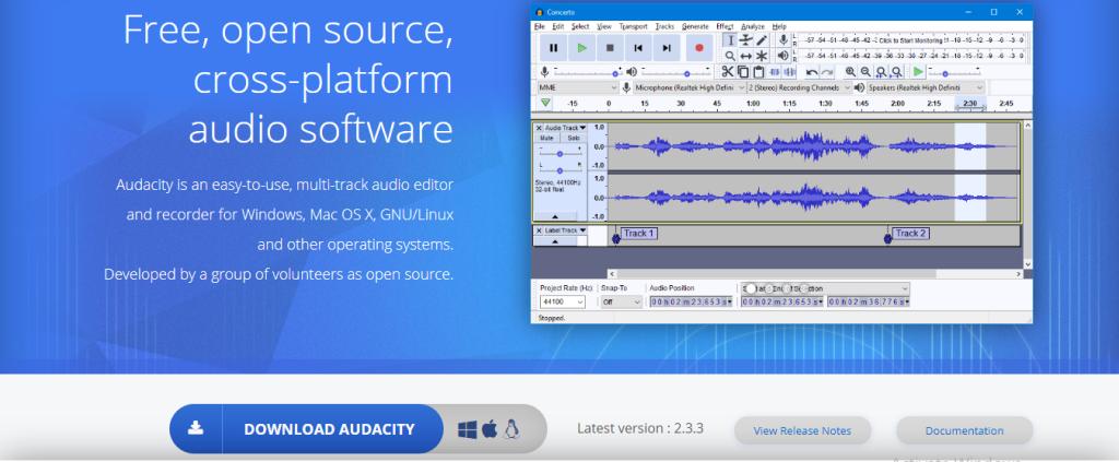 Audacity-Software