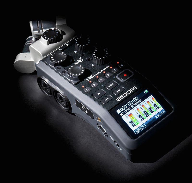 ZOOM-H6-AUDIO-RECORDER