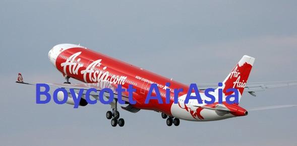 Boycott-AirAsia