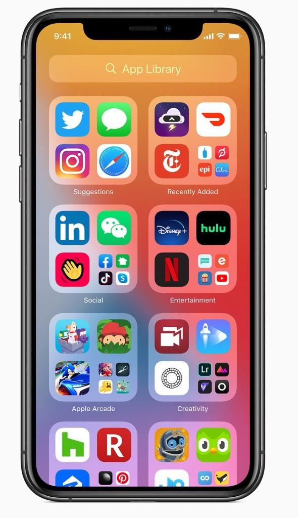iOS14-App-Library