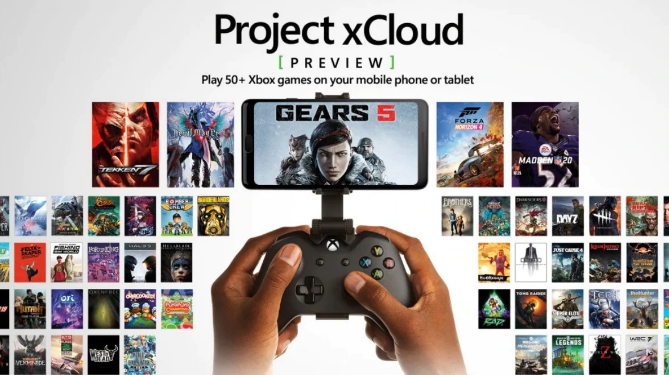 Project-xCloud-Game-Streaming
